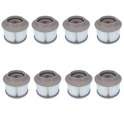 8 Uds MSPA Paquete de filtros de repuesto bañera inflable para mantener limpio para filtro Mspa cartucho de filtro de agua