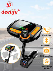 Deelife Modulator Mp3-Player Car-Kit Fm-Transmitter Auto-Music-Adapter Bluetooth Usb-Charger