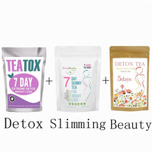 7 Days Slimming Products Fat Burning & Detox Tea for Weight Losing Healthy Skinny 5 Days Beauty Flower Tea Skin Care