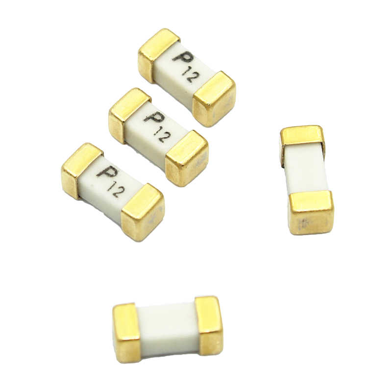 10PCS Gold foot 1808 125V 0451 SMD Fast blow ultra-rapid fuses 1A TOYJUS