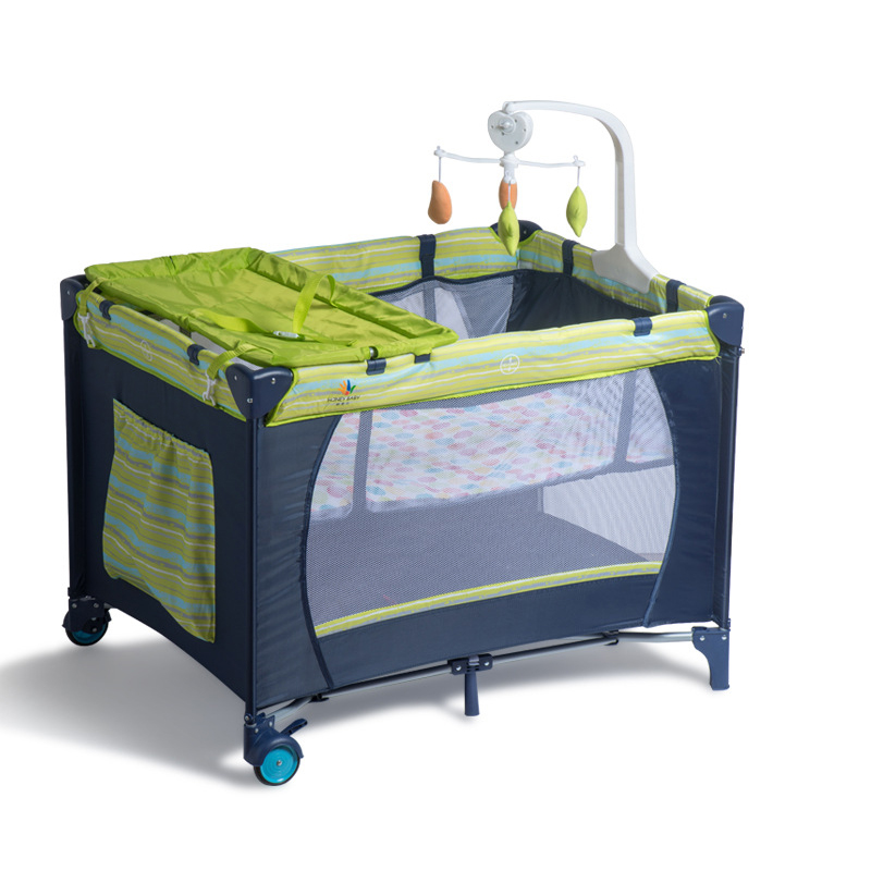 Europe Portable Folding  Travel  Baby Crib Multifunctional Paly Game Beding Sets Baby Cot Game Bed Newborn Baby Bassinet