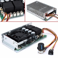 New New DC 10 50V 100A 3000W Programmable Reversible PWM Control Motor Speed Controller