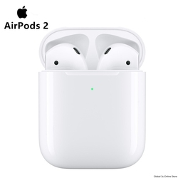 New Apple AirPods 2nd Bluetooth Headset with Wireless Charging Case for iPhone iPad MacBook iPod Apple Watch
