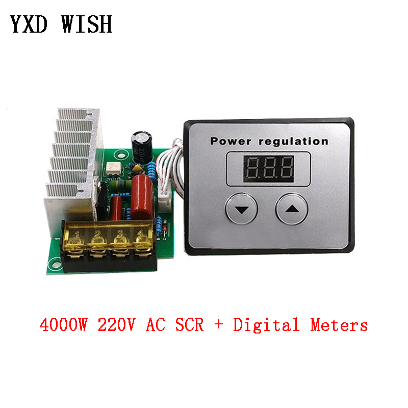 Dimmer SCR Digital-Meters Temperature-Controller Voltage-Regulator Electric-Motor Water-Heater