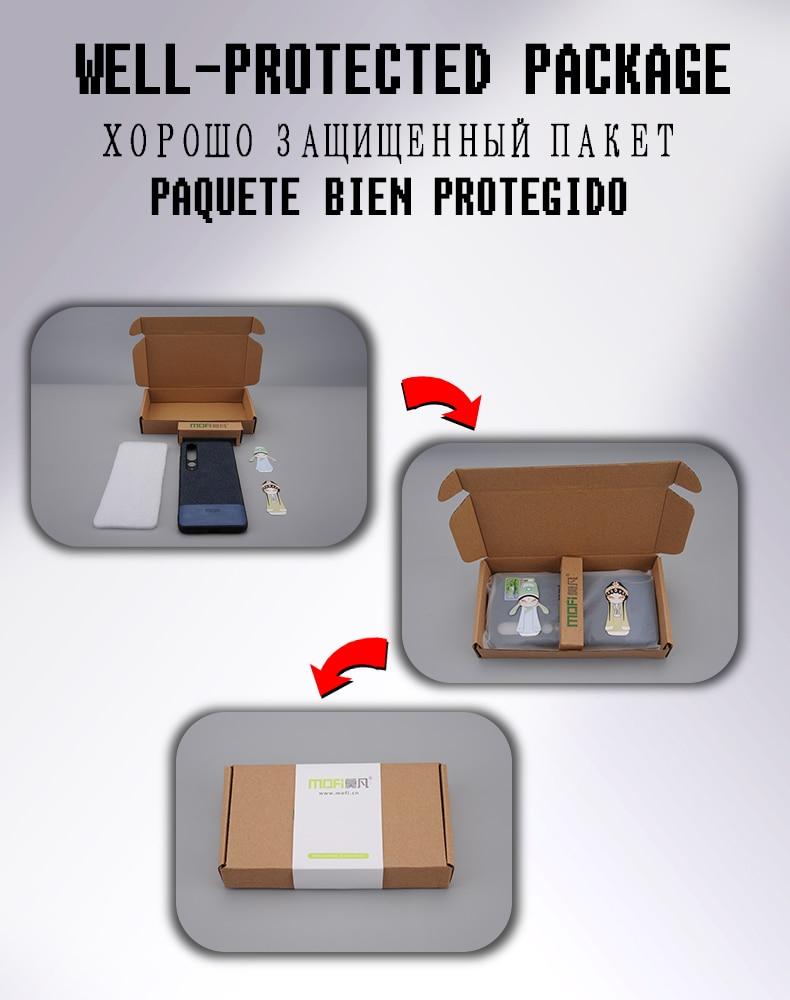 H38996b77894d4959b10c2f7ff8738b2dA Capinha capa case telefone Para xiaomi mi 9t caso capa de pano tecido mofi original mi9t pro capa dura protetora silicone à prova de choque volta caso