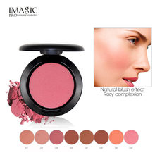 IMAGIC 8 Color Professional Blusher Natural Face Pressed Makeup Palette Waterproof Long-lasting Nature Finish Beauty