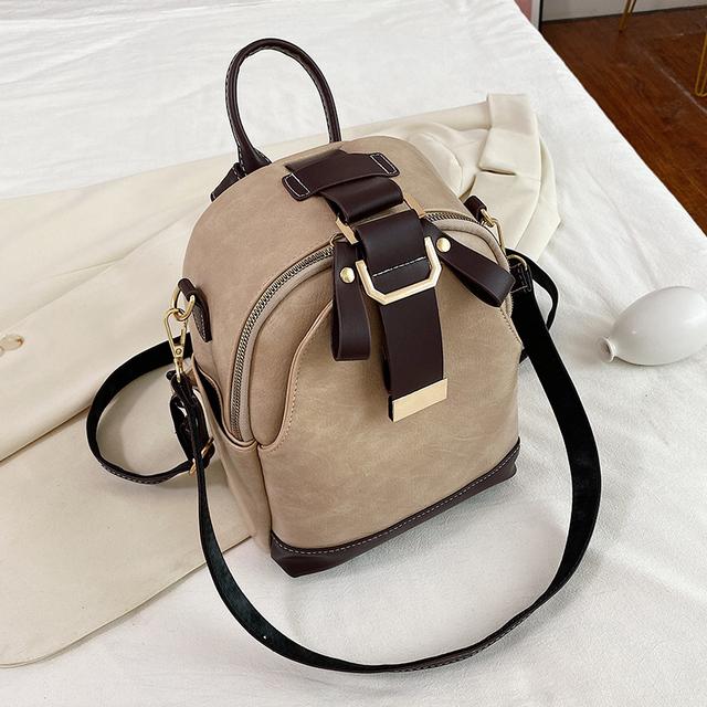 Modne plecaki damskie pojemne torby na ramię Casual wysokiej jakości torby proste torby uniwersalne śliczne designerskie torby tanie i dobre opinie Mikrofibra Skóry Syntetycznej CN (pochodzenie) Tłoczenie WOMEN Miękka Kieszeń na telefon komórkowy Wewnętrzna kieszeń