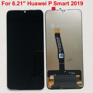 """Image 1 - 새로운 6.21 """"화웨이 P 스마트 2019 LCD 디스플레이 스크린 + 터치 패널 디지타이저 POT LX1/POT LX1AF/POT LX2J 프레임"""