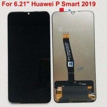 "Nuovo originale Per 6.21 ""Huawei P di Smart 2019 Display LCD Screen + Touch Panel Digitizer Per POT LX1/POT LX1AF /POT LX2J Con Telaio"