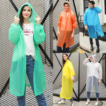 New Raincoats Men Women Raincoat Rain Coat Hooded Waterproof Jacket Poncho Rainwear Overalls Solid Clear Hat Button 2020(China)
