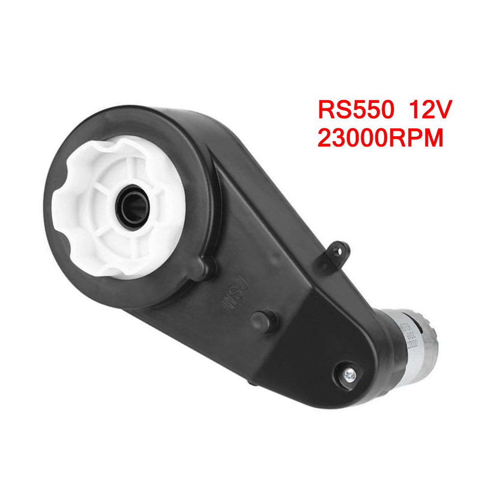 RS390 Electric Motor Gearbox 6V//12V 12000~20000RPM for Kids Ride On Car Toy