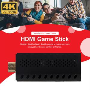 Retro Video Game Console Wireless USB Handheld TV Game Console Built In 3500 Classic Games Support HDMI Output 4k