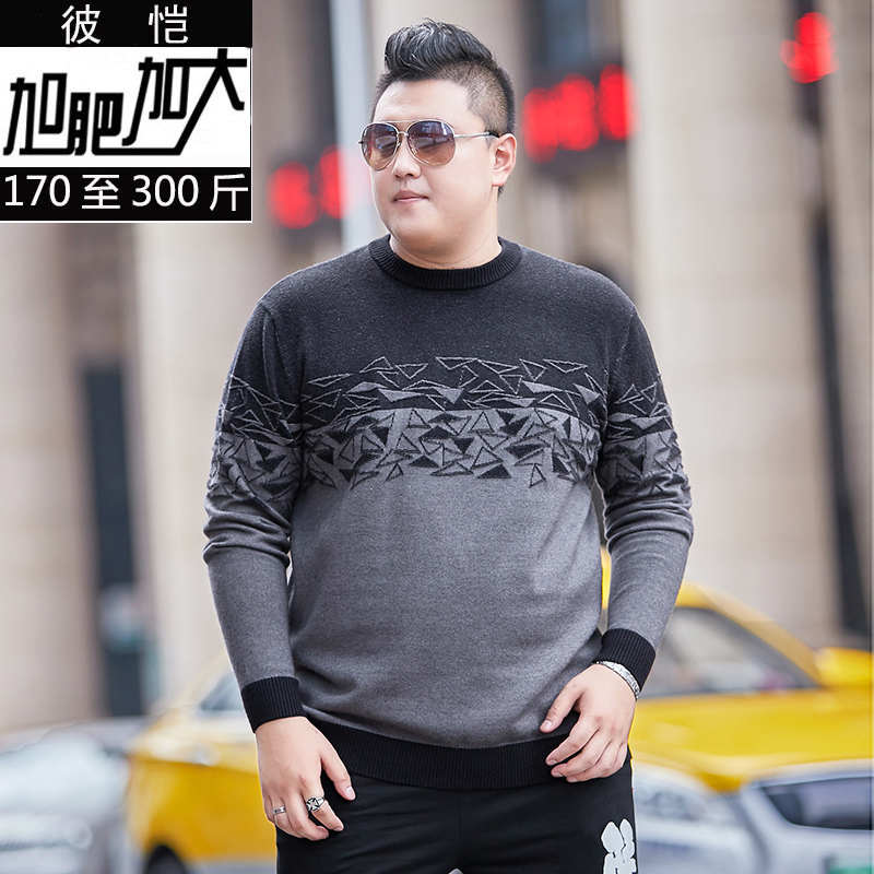 10XL 8XL 6XL 2018 New Autumn Winter Thick Warm Cashmere Sweater Men Casual O-Neck Pull Homme Brand Pullovers Mens Wool Sweaters