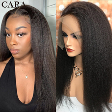 Wigs Human-Hair-Wigs Frontal Straight Cara Full-Lace Brazilian 360 for Black Women Natural