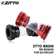 BB209 BB92 BB90 BB86 basın Fit alt parantez yol dağ bisikleti parçaları için 24mm aynakol BB GXP 22mm zincir seti