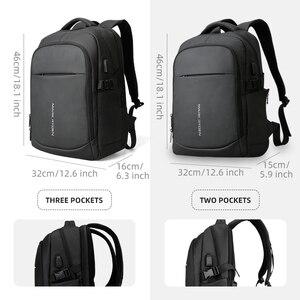 Image 5 - Mark Ryden 2020 Man Backpack Multifunctional Waterproof 15.6inch Laptop Multi layer Pockets Bag Man USB Charging School Backpack