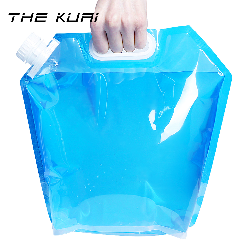 Large-capacity Water Bag Sports Portable Folding Water Bag Outdoor Travel Camping Fishing Mountaineering Portable Water Storage