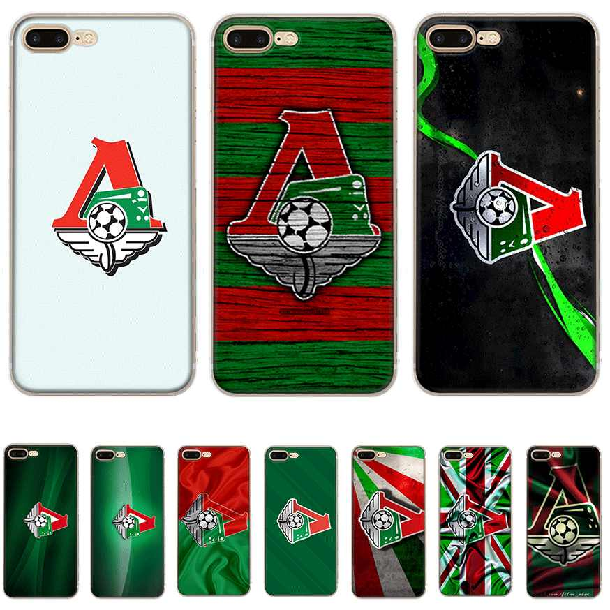 Mobile Phone Case for iPhone 5 5S SE 6 6S 7 8 Plus XR X XS Max Cover Hard Moscow Locomotive Logo
