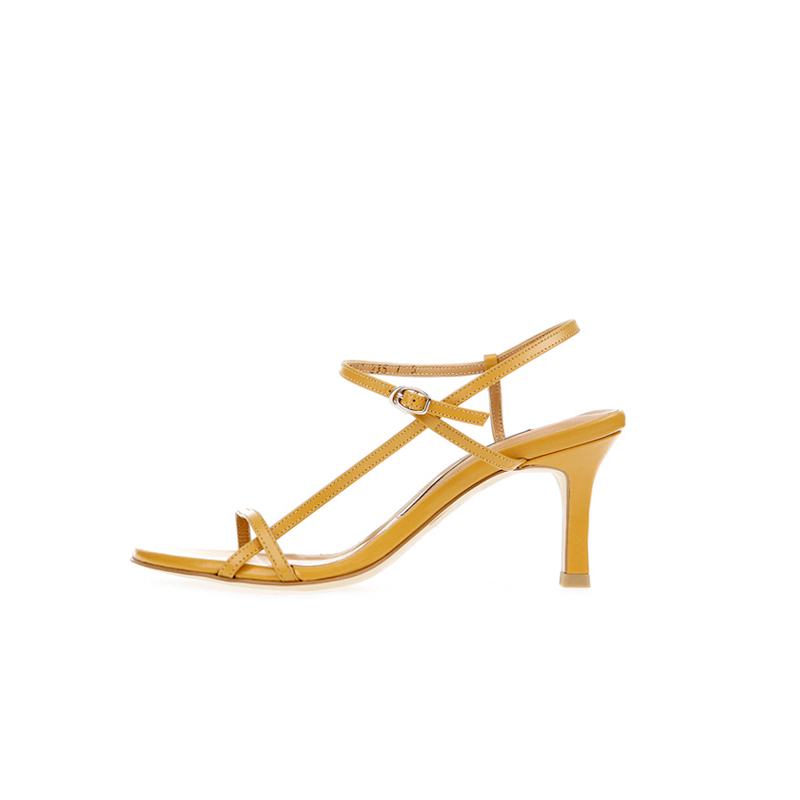 Summer Flat Buckle High Heeled Sandals Women Goddess Style Stiletto Sandals New Wild High-heeled Women's Shoes Size 33 -42