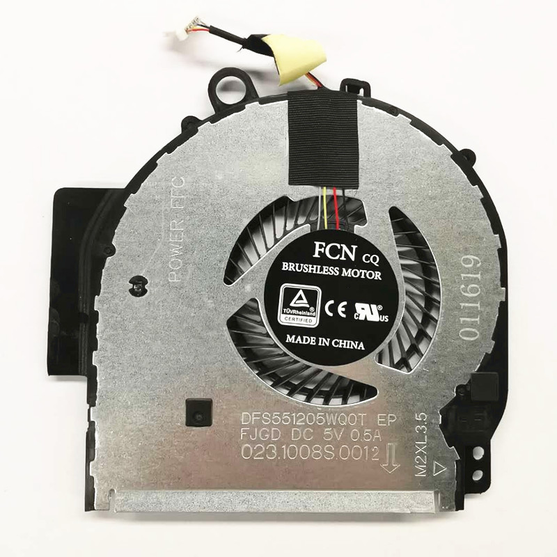 New Original CPU Cooling Fan Cooler For HP Pavilion X360 14-BA 924281-001 924282-001 DFS551205WQ0T-FJGD NBA-14P FSFTB5M