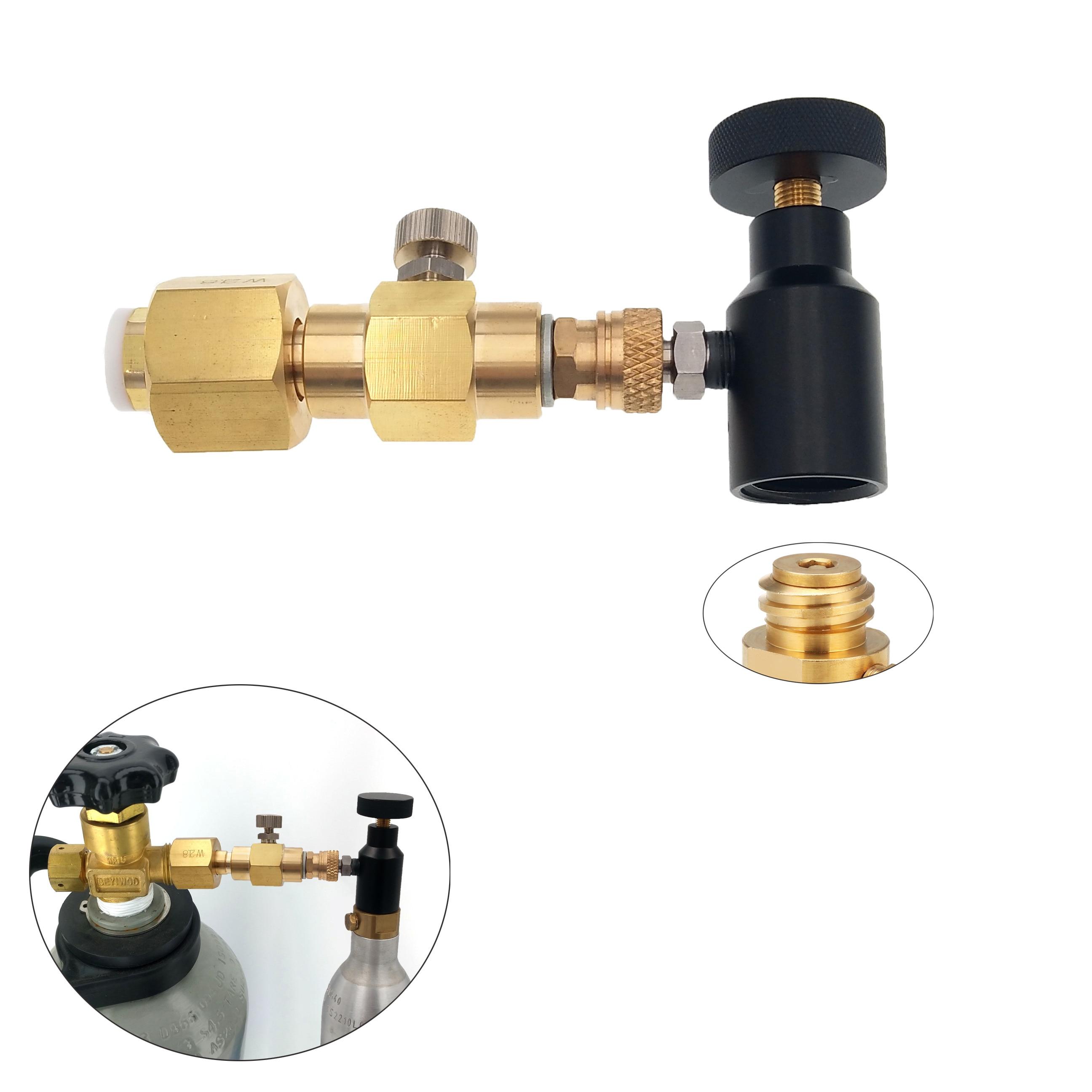 Sodastream CO2  Carbonator Cylinder Tank Refill Adapter Adaptor Filling Station