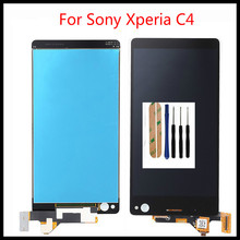 Tested Well Working LCD Display+Touch Screen For Sony Xperia C4 E5303 E5306 E5333 E5343 E5353 LCD Display With Tools rs178s 3t05 3bs00051 05gp good working tested