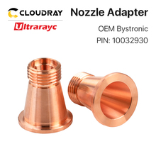 Ultrarayc Laser Nozzle Base for Fiber Cutting Head Bystronic D2 H30.5 PIN 2-08701