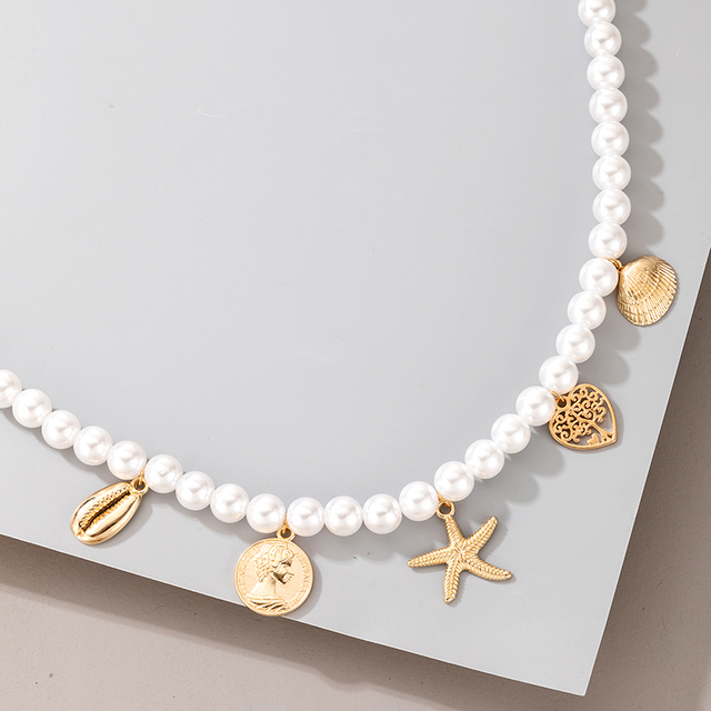 pearl and pendant necklace 4