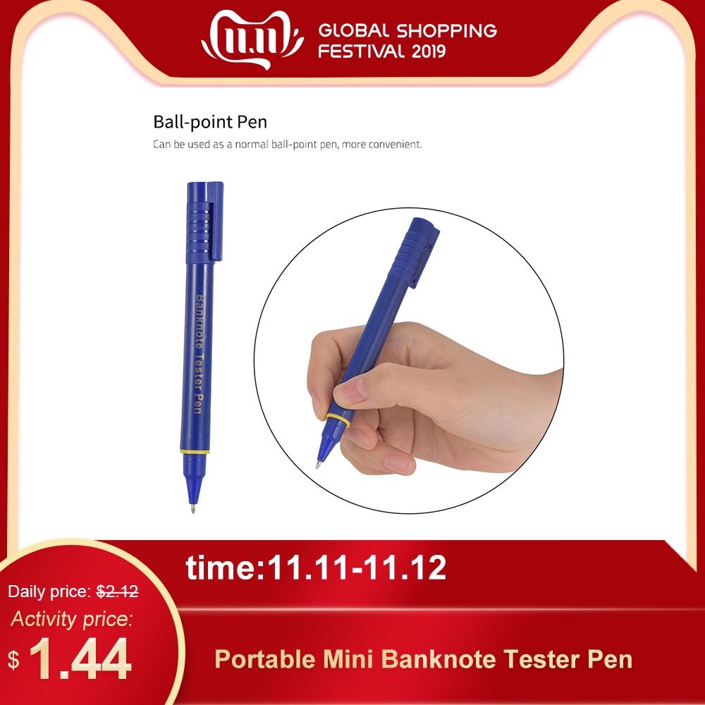 Portable Mini Banknote Tester Pen Counterfeit Money Detector Pen Money Marker Currency Cash Checker Fake Dollar Marker