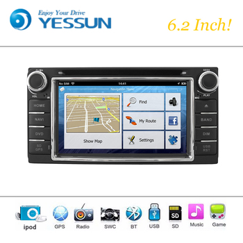Car DVD Player Wince System For Toyota Corolla Hilux 2000-2011 Autoradio Car Radio Stereo GPS Navigation Multimedia Audio Video image