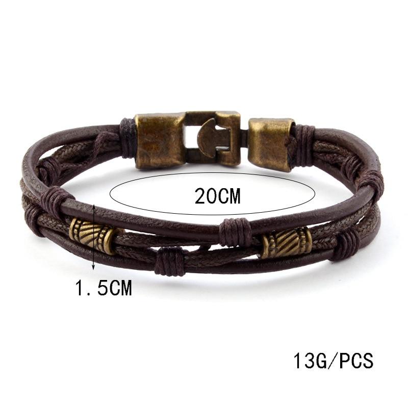 Leather bracelet (3)