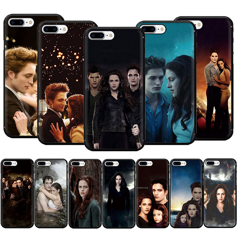 Twilight Saga Weiche TPU Telefon Fall für <font><b>iPhone</b></font> SE 2020 11 Pro 5 5s 6 6s 7 8 plus X XR XS MAX image