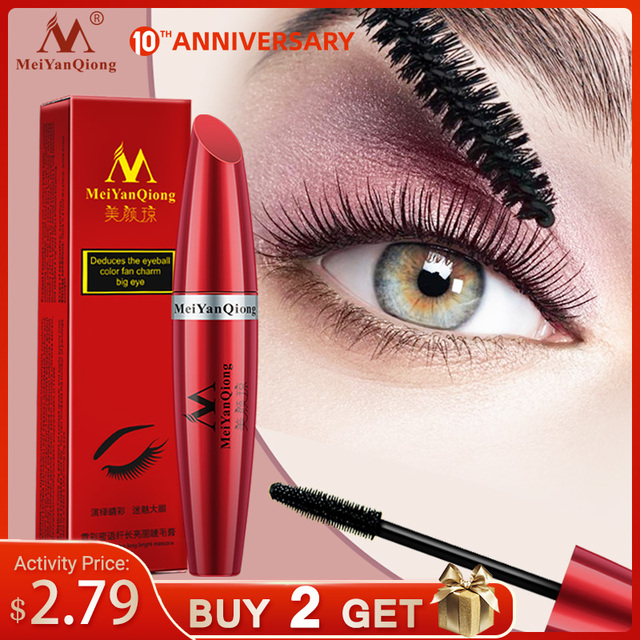 Makeup Eye Mascara Lengthening Nutritious Moisturizing Easy to Dry Natural Curling Thick Waterproof Sweat-proof Eyelash Care