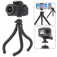 Ulanzi MT 07 Octopus Tripod Kit W Microphone Light Handle Rig for All Round Shooting Smartphone Action Camera Gopro Vlogging