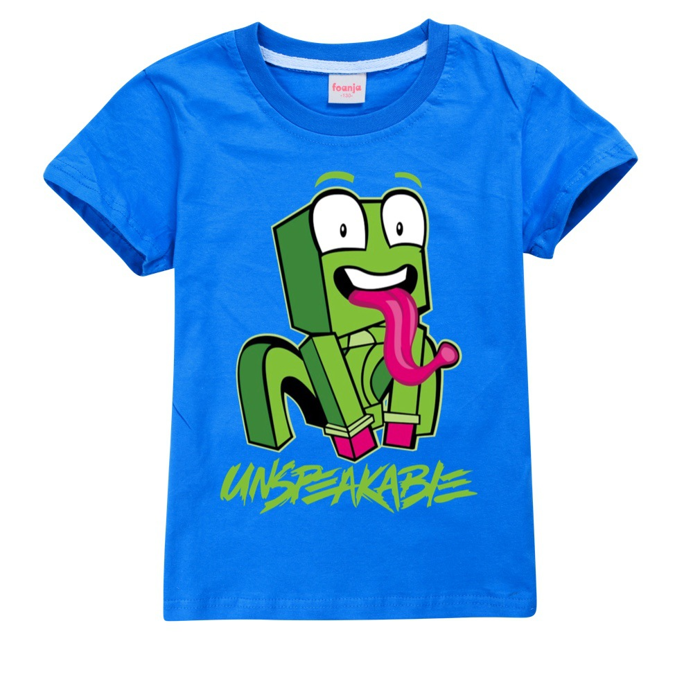 New Big Kids Clothes Girls 8 To 12 Summer T Shirt Cotton Cute Frog Unspeakable Teenage Boys Black Tops Toddler Children T-shirts 3
