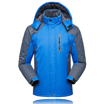 Winter Mens Hiking Jackets Windproof Outdoor Windbreakers Hydrophobic Clothing Fishing Hunting