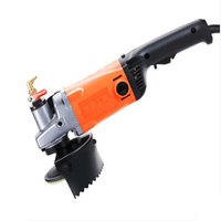 Solid Water Mill High Power Marble Domestic Tile Floor Water Injection Angle Grinder Stone Polishing Machine Adjustable Speed