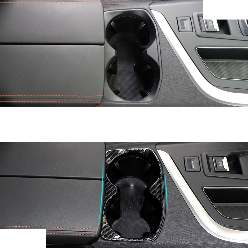 Lsrtw2017 Abs Car Central Control Cup Slot Frame Trims for Peugeot 3008 5008 2019 2020 Accessories in Interior Mouldings from Automobiles Motorcycles