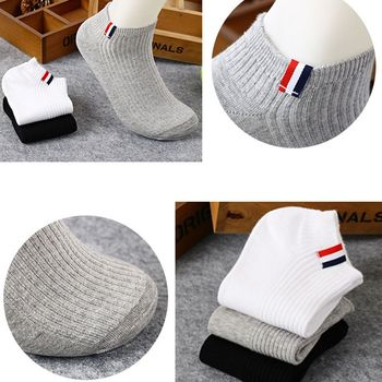 Mens Fashion Sport Socks Cotton Running Cycling Football Basketball Breathable Short Crew Ankle Low Cut