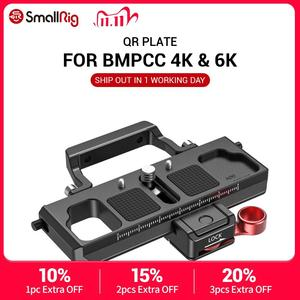Image 1 - SmallRig DSLR Camera Quick Release Plate Offset Kit for BMPCC 4K & 6K & Ronin S Crane 2 Moza Air 2 Gimbal 2403
