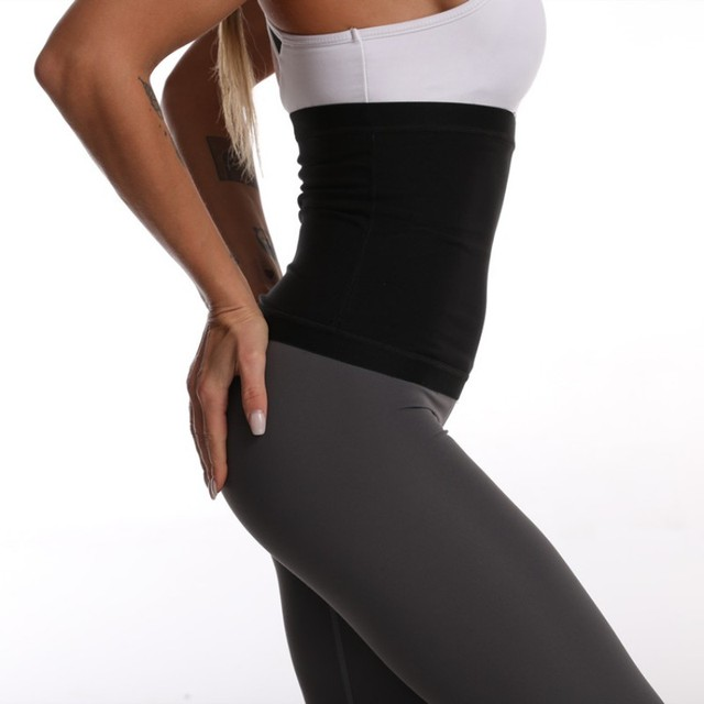 Waist Trimmer Outdoors Belt Weight Loss Sweat Band Wrap Fat Tummy Stomach Sauna Sweat Belt For Gym Fitness New 3