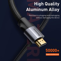 Baseus HDMI-compatible Cable 4K 60HZ 4K HD to 4K HD extension Splitter Cable for TV Switch Projector Laptop Office Video Cable