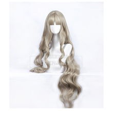 цена на DARLING in the FRANXX Code 556 KOKORO Cosplay Wig Long Wavy Curly Synthetic Hair Anime Costume Role Play Wigs+ Wig Cap