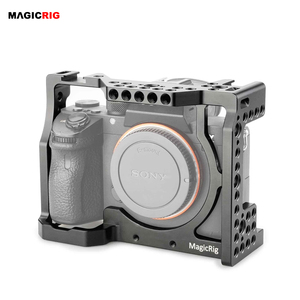 Image 1 - MAGICRIGกล้องมาตรฐานรองเท้าเย็นและARRIตำแหน่งหลุมสำหรับSony A7RIII /A7III /A7M3 /A7SII /A7RII /A7IIกล้อง