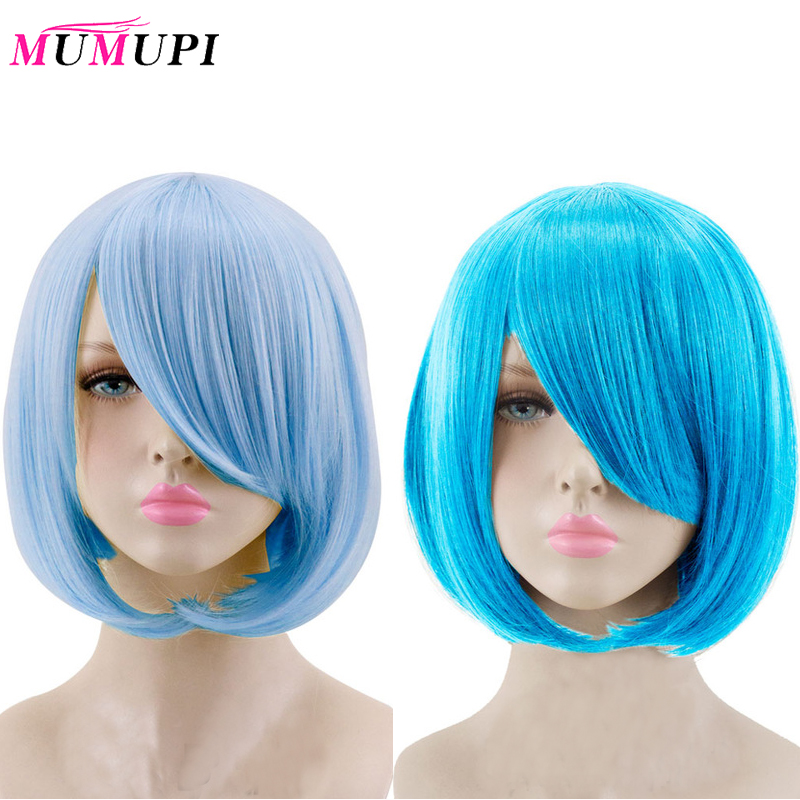 MUMUPI Synthetic High Quality Fiber Costume Party COS Wig 23 Color 14