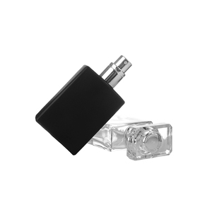 Image 5 - 30ml Glass Empty Perfume Bottles Square Spray Atomizer Refillable Bottle Scent Case with Travel Size Portable