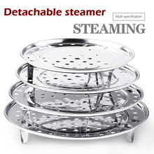 Steamer-Rack Cookware Kitchen-Accessories Stainless-Steel Multifunction Pot 1-Pc Durable