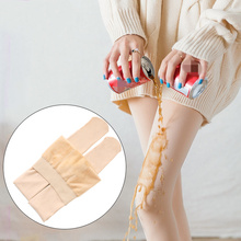 Compression Support Stockings Slimming Pantyhose Anti-fouling Inner Velvet Women Shapewear Tight  Winter Spring Autumn
