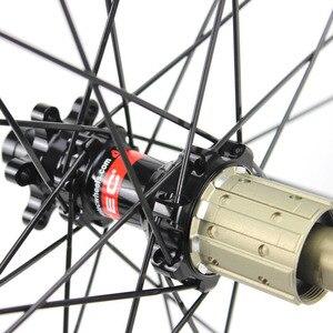 Image 3 - ELITE Carbon Wheels Carbon Mtb Wheels 29 Novatec D411 Straight Pull Hub Carbon Wheelset 29er Mtb Wheels 30mm Width Bicycle Wheel