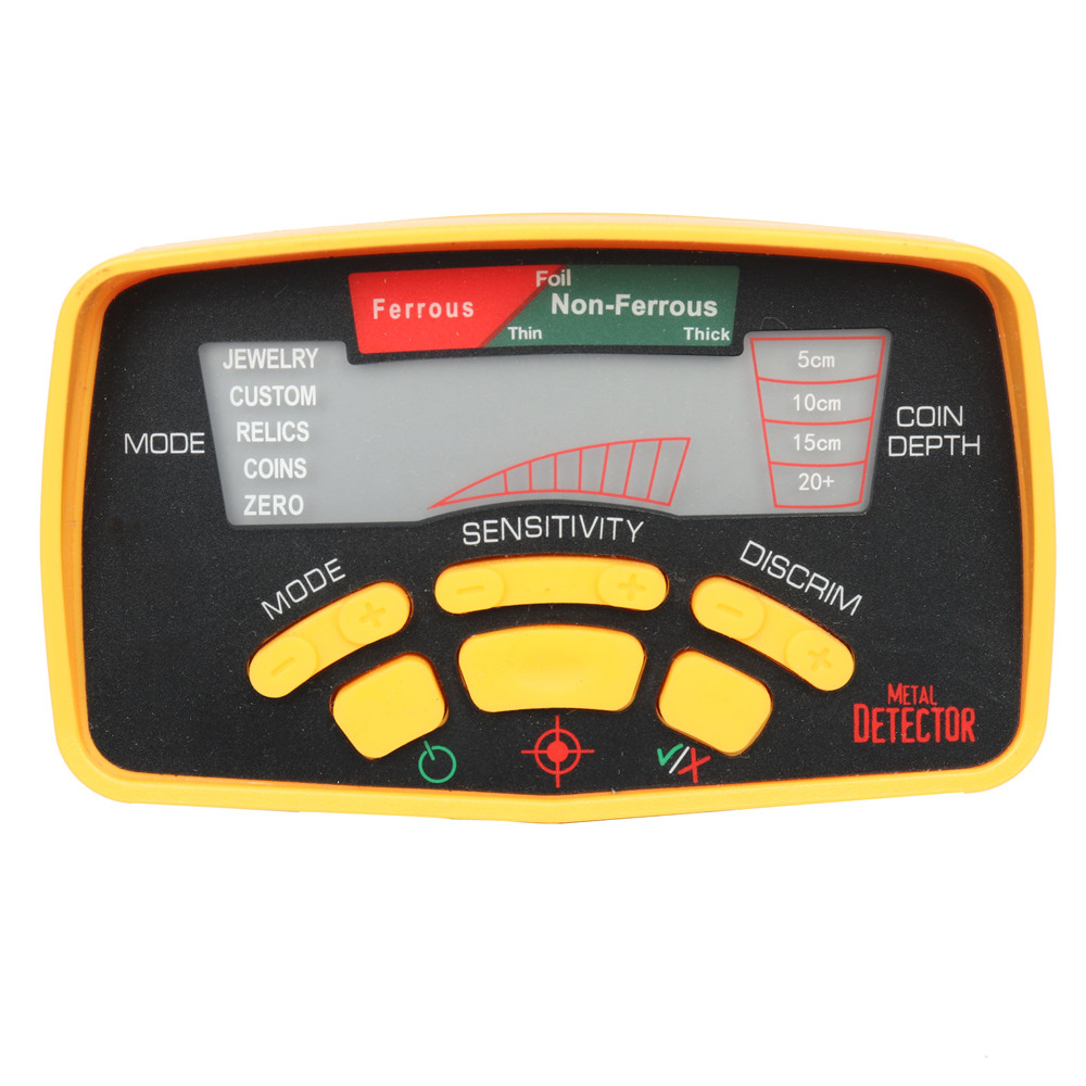 Tools : Gold Detector MD-6250 Updated Underground Metal Detector MD-6350 11  inch Detect Coil Depth 2 5 Meters Pinpointer as Gift